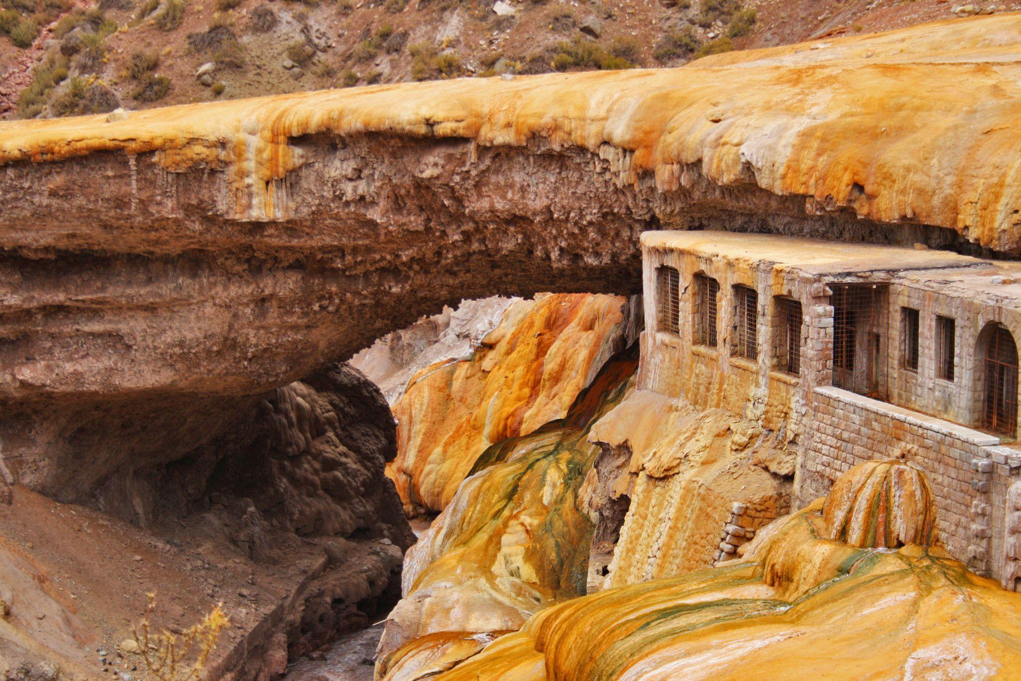 Lugares para conocer Mendoza Puente del inca
